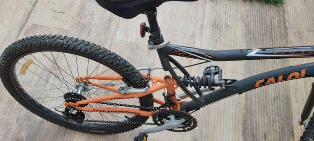 Bicicleta caloi aro 26 semi nova - Foto 3