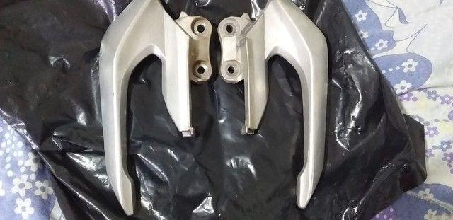 Alças laterais de alumínio liga leve da cb twister  - Foto 3