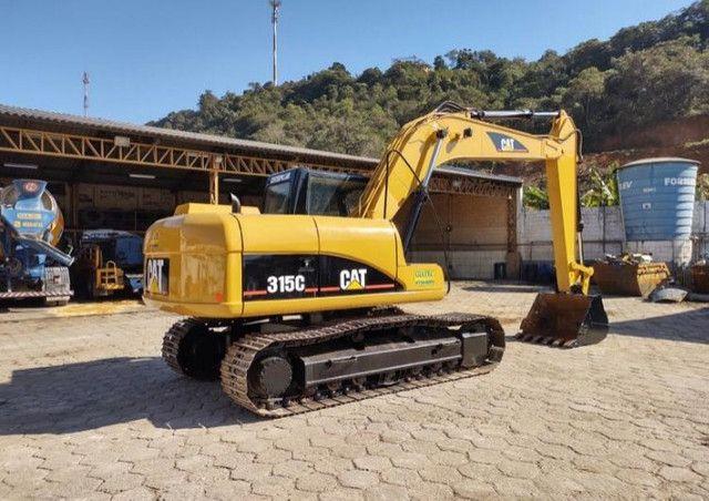 escavadeira caterpillar 315