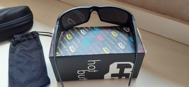 Óculos HB Original, Preto Fosco - Nunca usado - Foto 5