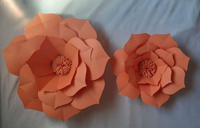 Flores Decorativas de Papel - Foto 2