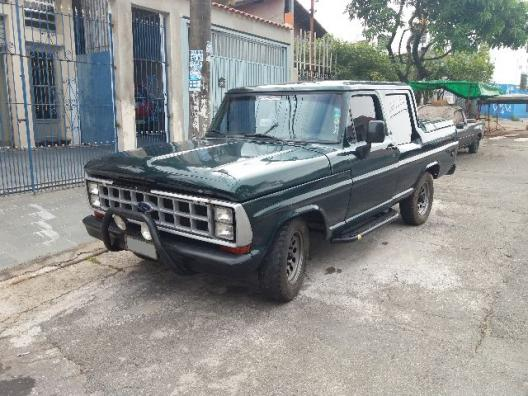 FORD F1000 TURBO DIESEL CABINE DUPLA
