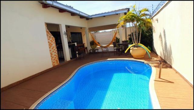 Casa 3 Suítes, 150 m² c/ lazer na 509 Sul - Aceita Apto