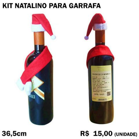 Kit Natalino para Garrafa