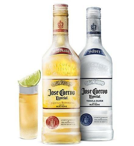 Tequila José Cuervo ouro/prata