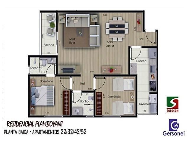 Apartamento à venda com 03 dormitórios em Nucleo agricola alpha, Franca cod:4604 - Foto 5