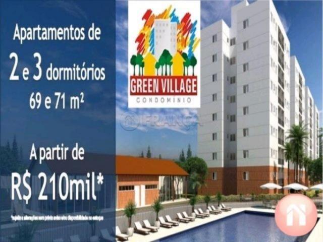 Apartamento à venda com 3 dormitórios em Cidade jardim, Jacarei cod:V2194