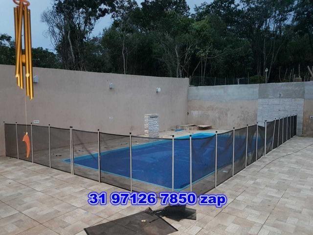 Lindo sítio com piscina,pomar,murado,casa colonial,250 mil - Foto 19