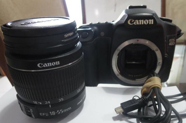 Câmera com lente Canon EOS 40D: excelente! - Foto 3