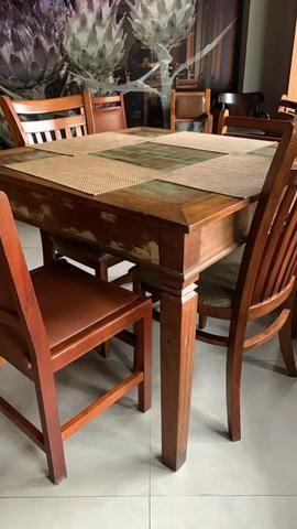 Mesas madeira demolição - Foto 6