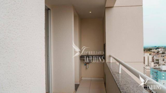 Apartamento com 3 dormitórios para alugar, 70 m² por r$ 1.400,00/mês - centro - londrina/p - Foto 15