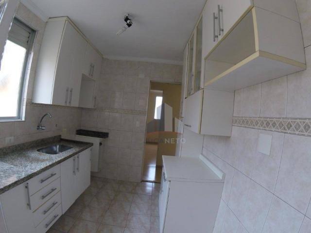 Apartamento com 2 dormitórios para alugar, 52 m² por r$ 1.350/mês - parque são vicente - m