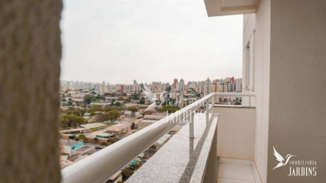 Apartamento com 3 dormitórios para alugar, 70 m² por r$ 1.400,00/mês - centro - londrina/p - Foto 17