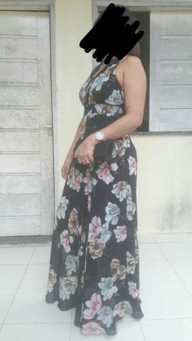 Vendo este vestido de festa veste 38 e 40 - Foto 4