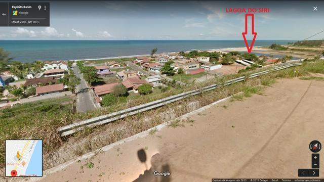 Lote com visão de 180° do Mar e Lagoa do Siri
