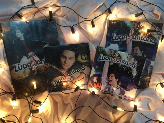 Kit 2 CD's e 2 DVD's Luan Santana