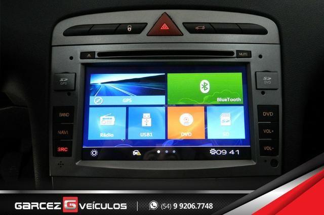 Peugeot 308 1.6 Active Flex Manual Com Teto Leds Diúrnos Couro Multimídia Top - Foto 13