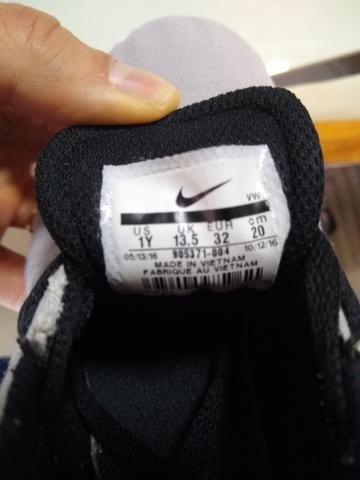 Sapatênis infantil Nike tamanho 30 - Foto 3