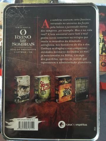 Robson Pinheiro - Box Trilogia O Reino das Sombras - Edição de colecionador - Foto 2