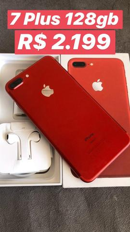 Iphone 7 plus 128gb Red Edition - Foto 2