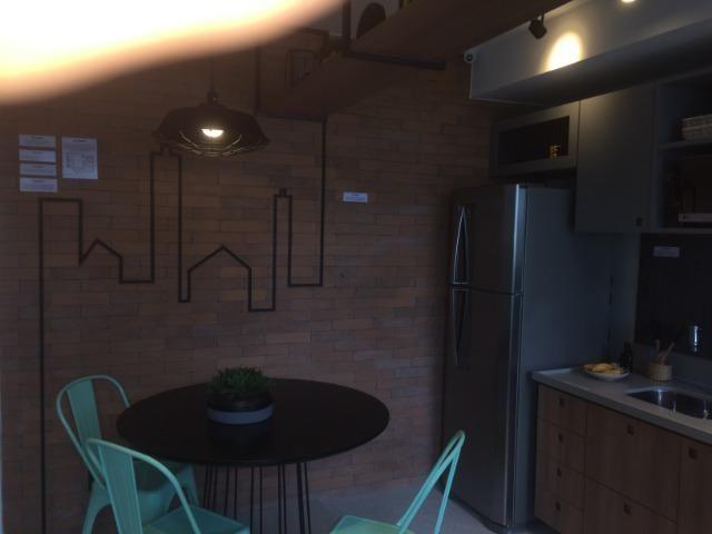 Apartamento sala e quarto varanda com infraestrutura - Foto 8