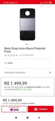 Snap projetor