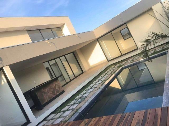 Excelente casa moderna de alto padrão em rua 05 Vicente Pires - Foto 13