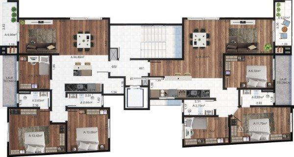 Apartamento à venda com 3 dormitórios em Colina sorriso, Caxias do sul cod:11348 - Foto 7