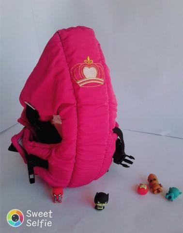 Mamãe Canguru Pink Misto Lindo Gracinha Beybe