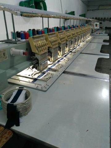Maquina de Bordado ALW 12 Cabeças e 12 Agulhas - Foto 6
