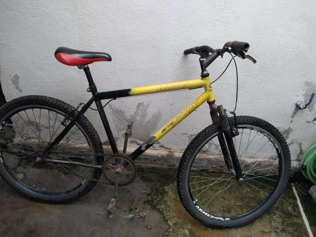 Bicicleta sem marcha roda aérea