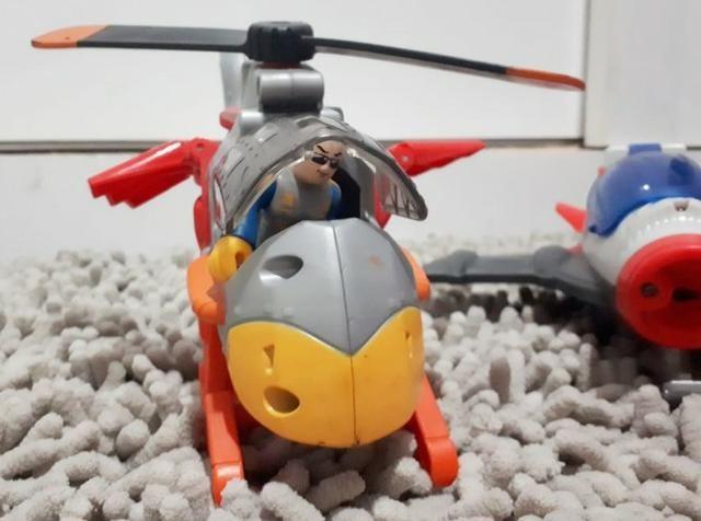 Avião e helicóptero- imaginex - Foto 3