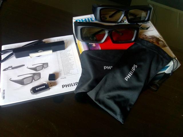 075d2612f34e8 Kit Oculos 3D Original Philips - Áudio, TV, vídeo e fotografia - São ...