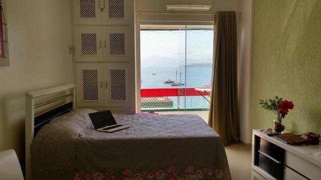 Flat em angra com lazer no condomínio e de frente para o mar azul - Foto 2