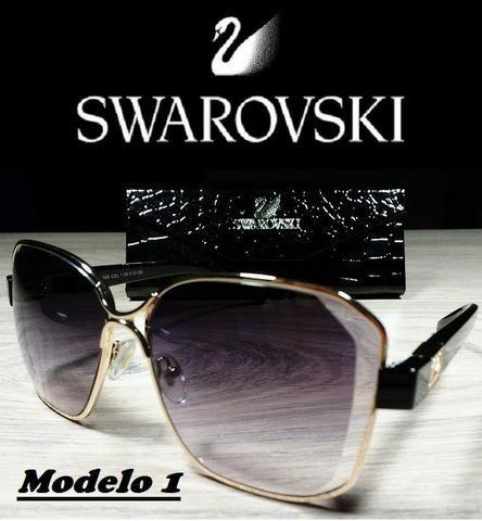 Óculos Feminino Swarovski XH26068 com Proteção UV - Bijouterias ... 769e8bc21d
