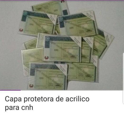 Capa Protetora De Acrilico Para Cnh - Foto 3