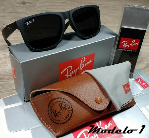 32a81972908db Óculos RayBan Justin 4165 100% Polarizado - Bijouterias, relógios e ...