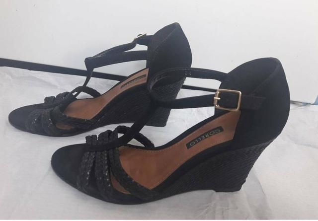 eacc5067e8 Sandália Anabela Corello 34 - Roupas e calçados - Vila Curuçá