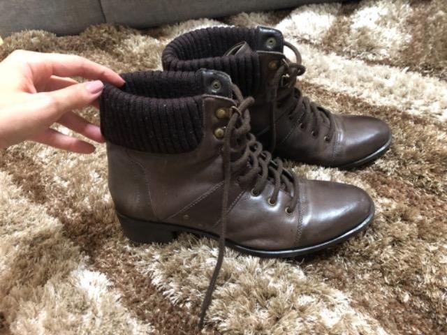 8066761b9 Bota feminina marrom Constance - Roupas e calçados - Major Lage de ...