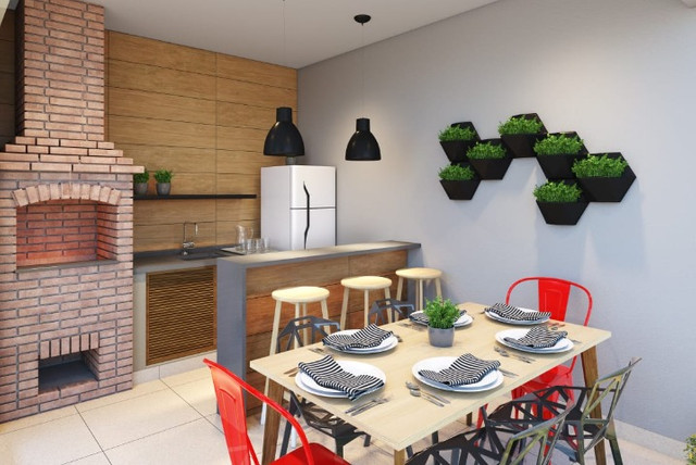 Apartamento Novo, Faltou Entrada? Parcelamos para você-Financiamento Caixa-Use seu FGTS - Foto 5