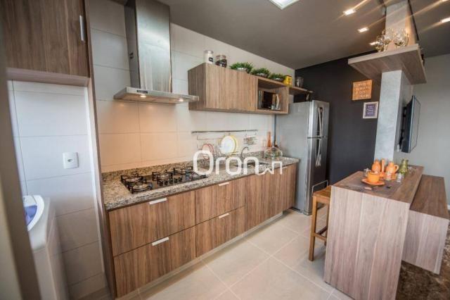 Apartamento à venda, 61 m² por R$ 350.000,00 - Vila Rosa - Goiânia/GO - Foto 6