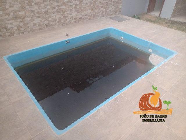 Casas em Unamar Tamoios Cabo Frio com piscina e churrasqueira - Foto 4