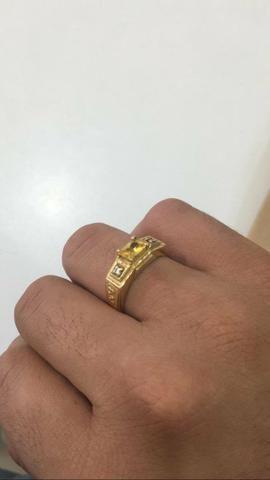 Anel de formatura, curso farmácia, 7.5 grama ouro 18k tamanho 27. 1400 reais