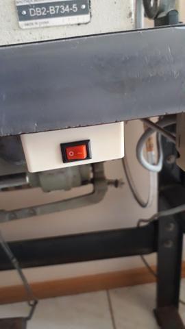 Máquina de costura reta industrial marca brother - Foto 4