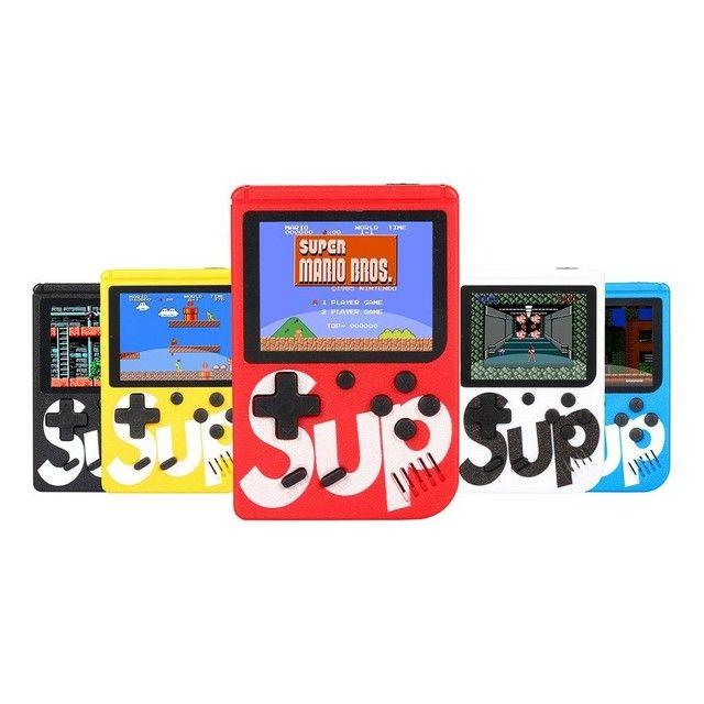 Mini Game Portátil SUP 400 Jogos Retrô Clássicos - Foto 4