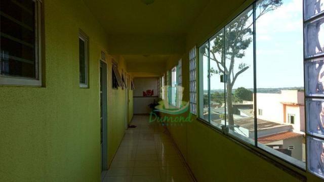 Apartamento com 1 dormitório para alugar com 71,94 m² por R$ 1.150/mês no Jardim das Laran - Foto 3