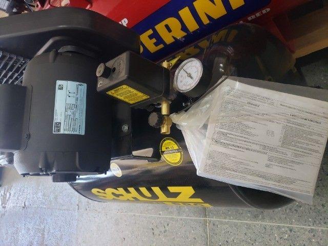compressor de ar 10 pes 100L 2HP 140psi  - Foto 2