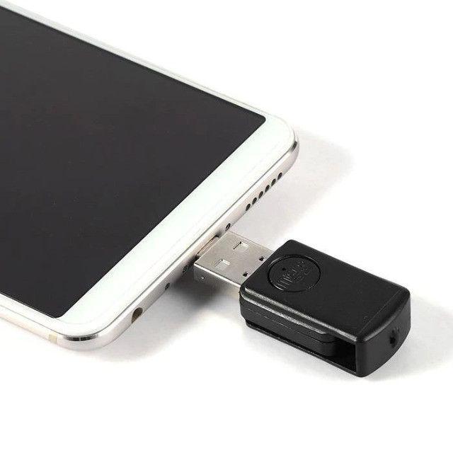 Adaptador Conversor Micro Usb Otg ou Tipo C para Android  Wpp: * - Foto 6