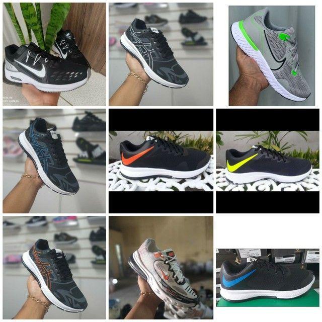 Vendo tênis Ñike e outros modelos ( 110 com entrega) - Foto 4