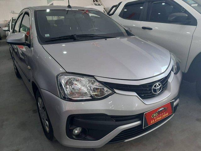 Etios 2018 1.5 X Sedan, flex, automático  - Foto 2